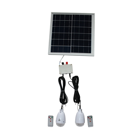 Solar Home System (1pc Panel with 2pcs led bulb)
