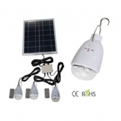 Solar Home System (1pc Panel with 3pcs led bulb)